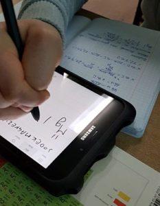 jak pracujemy z tabletem